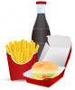 +meal+food+nourishment+feast+eat+hamburger+fast+food+meal+ clipart