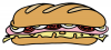 +meal+food+nourishment+feast+eat+sub+sandwich+ clipart