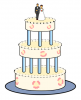 +sweet+dessert+snack+treat+wedding+cake+ clipart