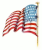 +military+US+military+flag+waving+left+ clipart