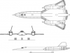 +military+airplane+plane+normal+SR+71A+Blackbird+2+ clipart