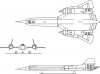 +military+airplane+plane+normal+YF+12A+Blackbird+ clipart