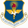 +military+shield+coat+of+arms+seal+Air+Education+and+Training+Command+ clipart