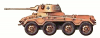 +tank+military+military+army+vehicle+SdKfz+234+ clipart