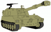 +tank+military+normal+military+army+vehicle+M109A5+ clipart