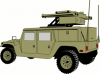 +transportation+normal+military+army+vehicle+HMMWVAD+ clipart