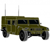 +transportation+normal+military+army+vehicle+hummer+05+ clipart