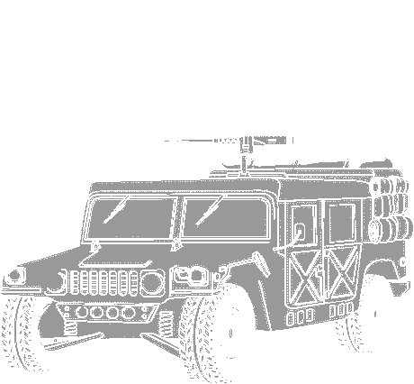 transportation normal military army vehicle hummer 01  clipart