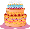 +birthday+cake+sweet+ clipart